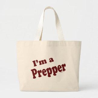 Soy un Prepper Bolsa Tela Grande