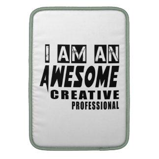 Soy un profesional creativo impresionante fundas MacBook