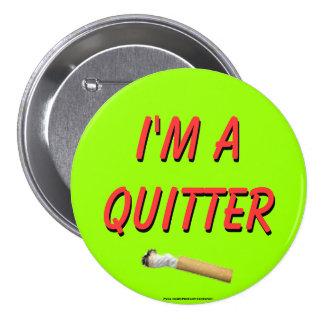 Soy un Quitter Pins