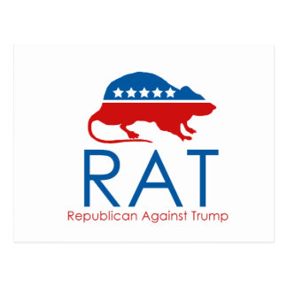 Soy un R.A.T: Republicano contra el triunfo Tarjetas Postales