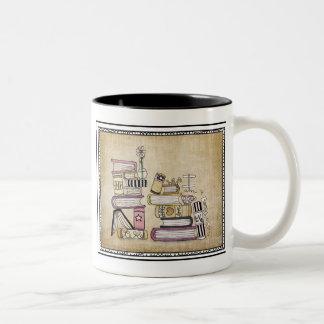 soy un ratón de biblioteca taza