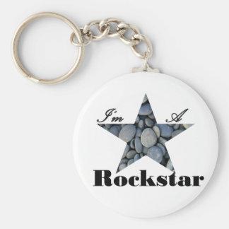 Soy un Rockstar Llavero