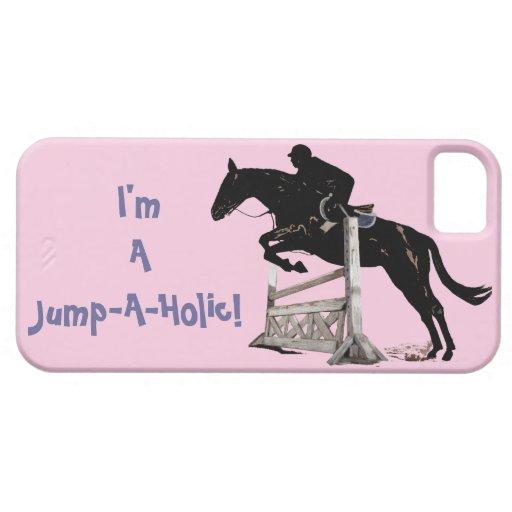 ¡Soy un Salto-UNo-Holic! Caso del iPhone 5 del cab iPhone 5 Protector