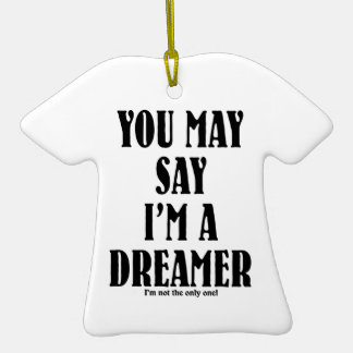Soy un soñador adornos