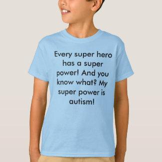 Soy un super héroe camisas