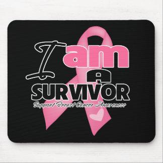 Soy un superviviente del cáncer de pecho alfombrilla de ratón