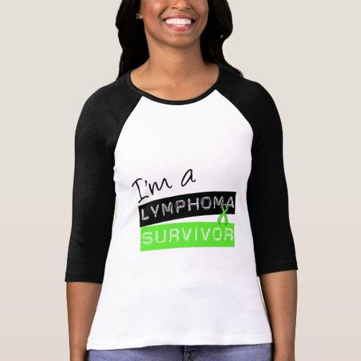 Soy un superviviente del linfoma camisetas