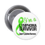 Soy un superviviente del linfoma pin