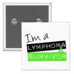 Soy un superviviente del linfoma pins