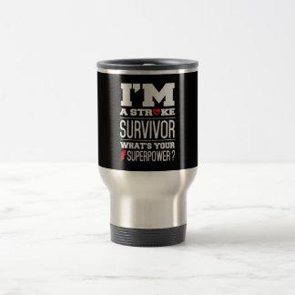 Soy un superviviente del movimiento. ¿Cuál es su Taza De Viaje De Acero Inoxidable