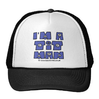 Soy un t él hombre gorras