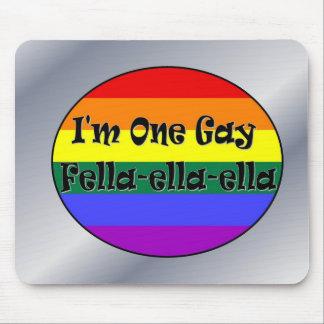 Soy un Tío-ella-ella gay Alfombrillas De Ratón