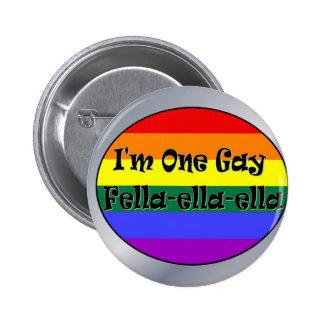 Soy un Tío-ella-ella gay Pin