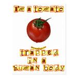 Soy un tomate… postal