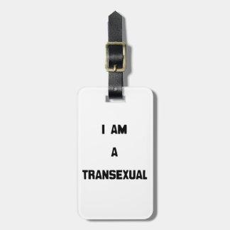 SOY UN TRANSEXUAL ETIQUETAS MALETAS