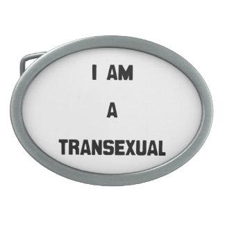 SOY UN TRANSEXUAL HEBILLAS CINTURÓN