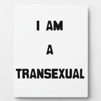 SOY UN TRANSEXUAL PLACAS DE MADERA