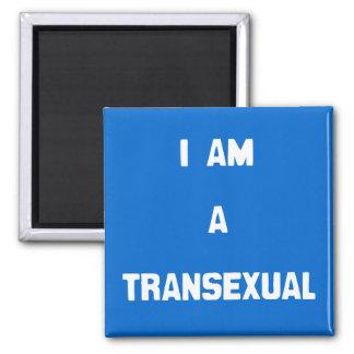 SOY UN TRANSEXUAL - .PNG IMÁN PARA FRIGORIFICO