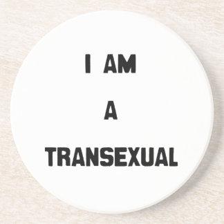 SOY UN TRANSEXUAL POSAVASOS PERSONALIZADOS
