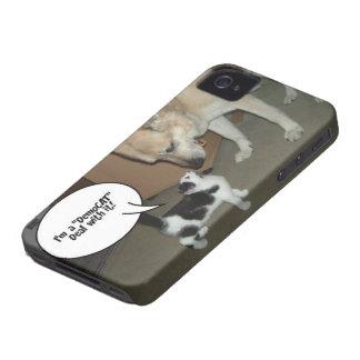 ¡Soy un trato de DemoCAT con él! Case-Mate iPhone 4 Funda