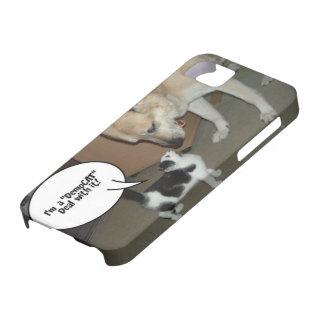 ¡Soy un trato de DemoCAT con él! iPhone 5 Case-Mate Protectores