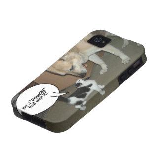 ¡Soy un trato de DemoCAT con él! Case-Mate iPhone 4 Carcasa