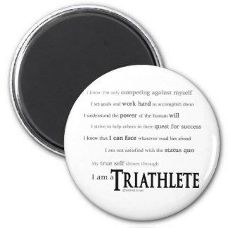 Soy un Triathlete Iman De Frigorífico