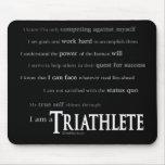 Soy un Triathlete Tapetes De Raton