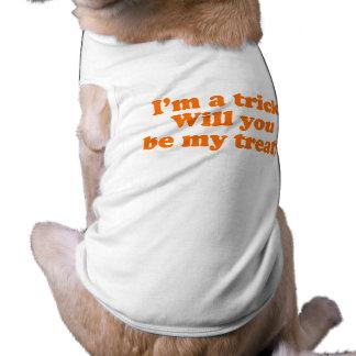 Soy UN TRUCO USTED SERÁ MI INVITACIÓN Ropa De Mascota