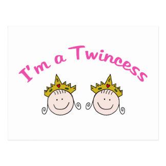 Soy un Twincess Tarjetas Postales
