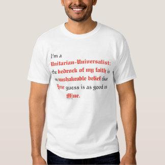 Soy un Unitarian universalista Poleras