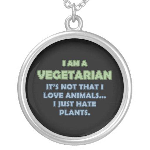 Soy un vegetariano pendientes