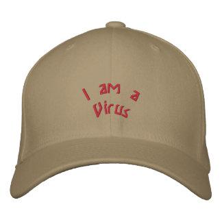Soy un virus gorra de beisbol