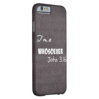 Soy un whosoever funda para iPhone 6 barely there