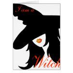 Soy una bruja pero soy un Woman_card Tarjetas
