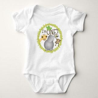 Soy UNA camiseta del bebé de la selva Playeras