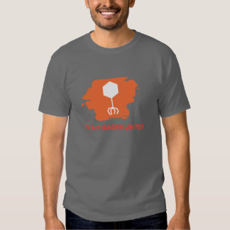 Soy una camiseta del logotipo de Phagehunter (el Poleras