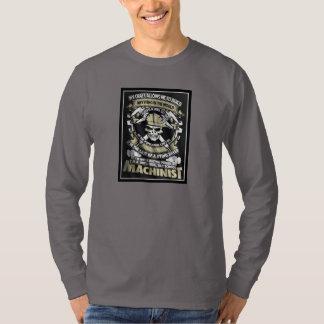 Soy una camiseta del maquinista de la escuela camisas