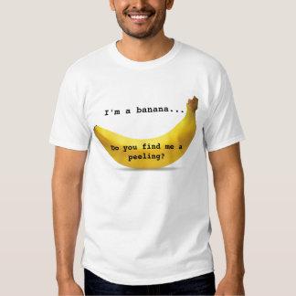 Soy una camiseta del plátano camisas