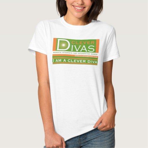 Soy una camiseta lista de la diva camisas