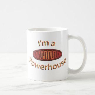 Soy una central eléctrica taza de café