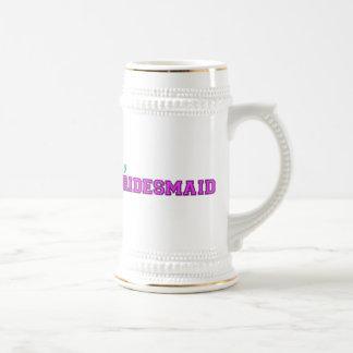 Soy una dama de honor taza de café