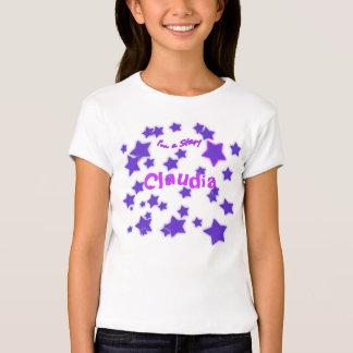 ¡Soy una estrella! Camisa estrellada púrpura y