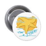 Soy una estrella de mar feliz de la estrella pin