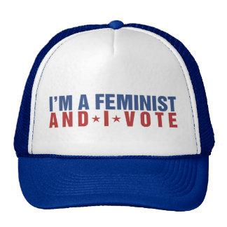 Soy una feminista y voto gorra