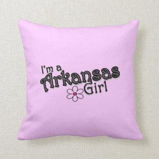 Soy una flor del chica de Arkansas, almohada decor