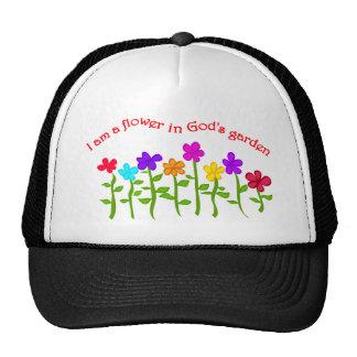 Soy una flor del jardín de dios gorra