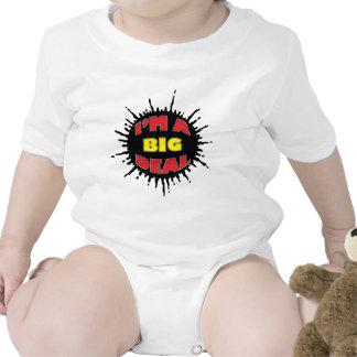Soy una gran cosa - comentario social astuto trajes de bebé