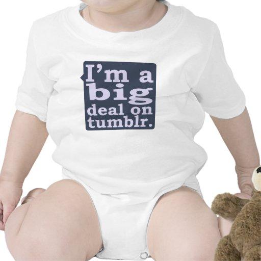 Soy una gran cosa en el camisetas de Tumblr