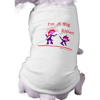 ¡Soy una hermana grande Camisetas De Perrito